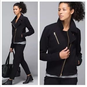 Lululemon | Black Lab Shadow Moto Jacket
